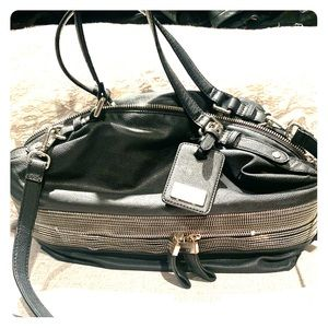 Handbags - Armani Exchange A/X black bag